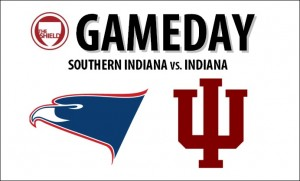 Follow usishield.com all day for continuous coverage of USI's exhibition season opener at Indiana.
